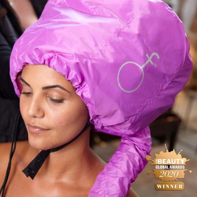 Woman wearing softhood - winner of Pure Beauty Global Awards 2020