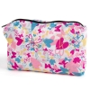 HairFlair Softhood Hearts and Butterflies Storage Bag