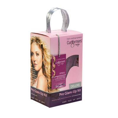 Curlformers by Hairflair spiral curl glam up kit