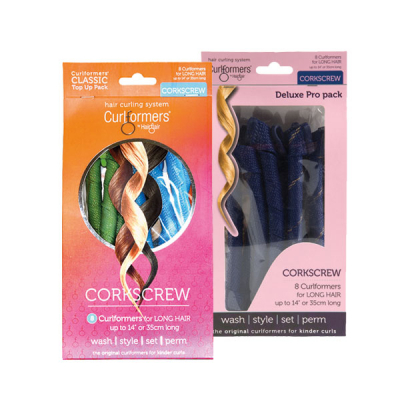 Corkscrew curl top up kit