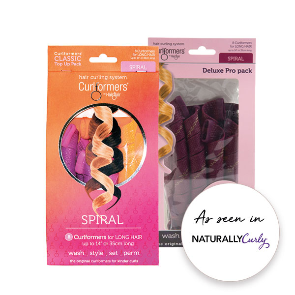 Spiral Curlformers top up pack - as seen in Naturally Curly