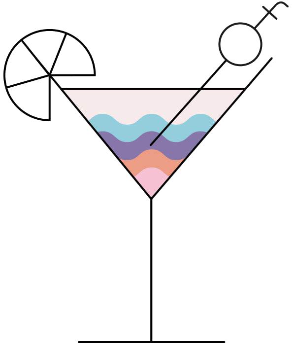 Styleformers Copa de cóctel