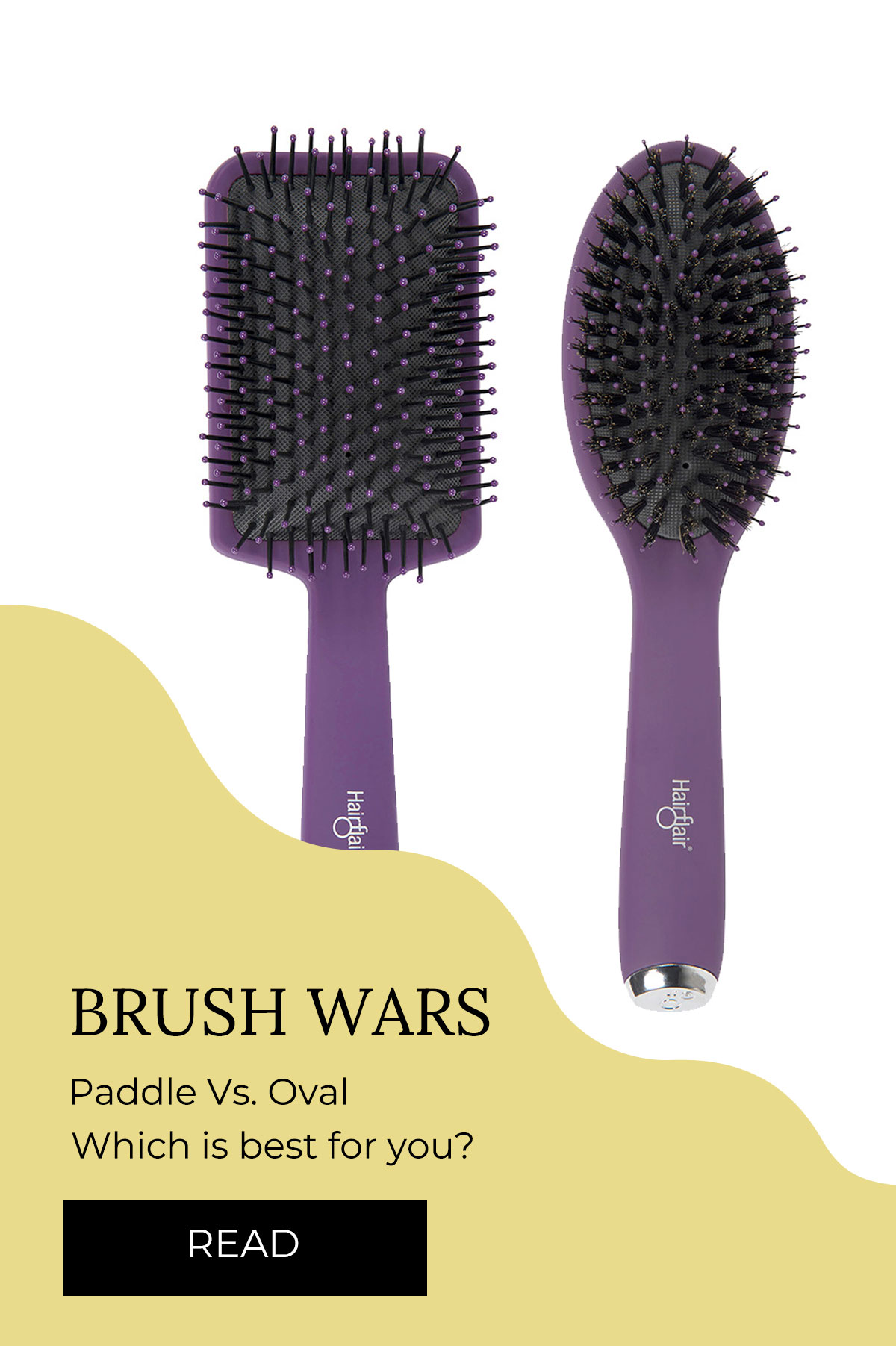 HairFlair® Brushes
