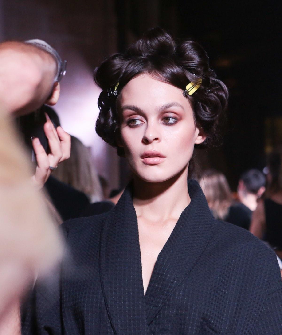NYFW Hair Trend Report - Rizos en la pasarela