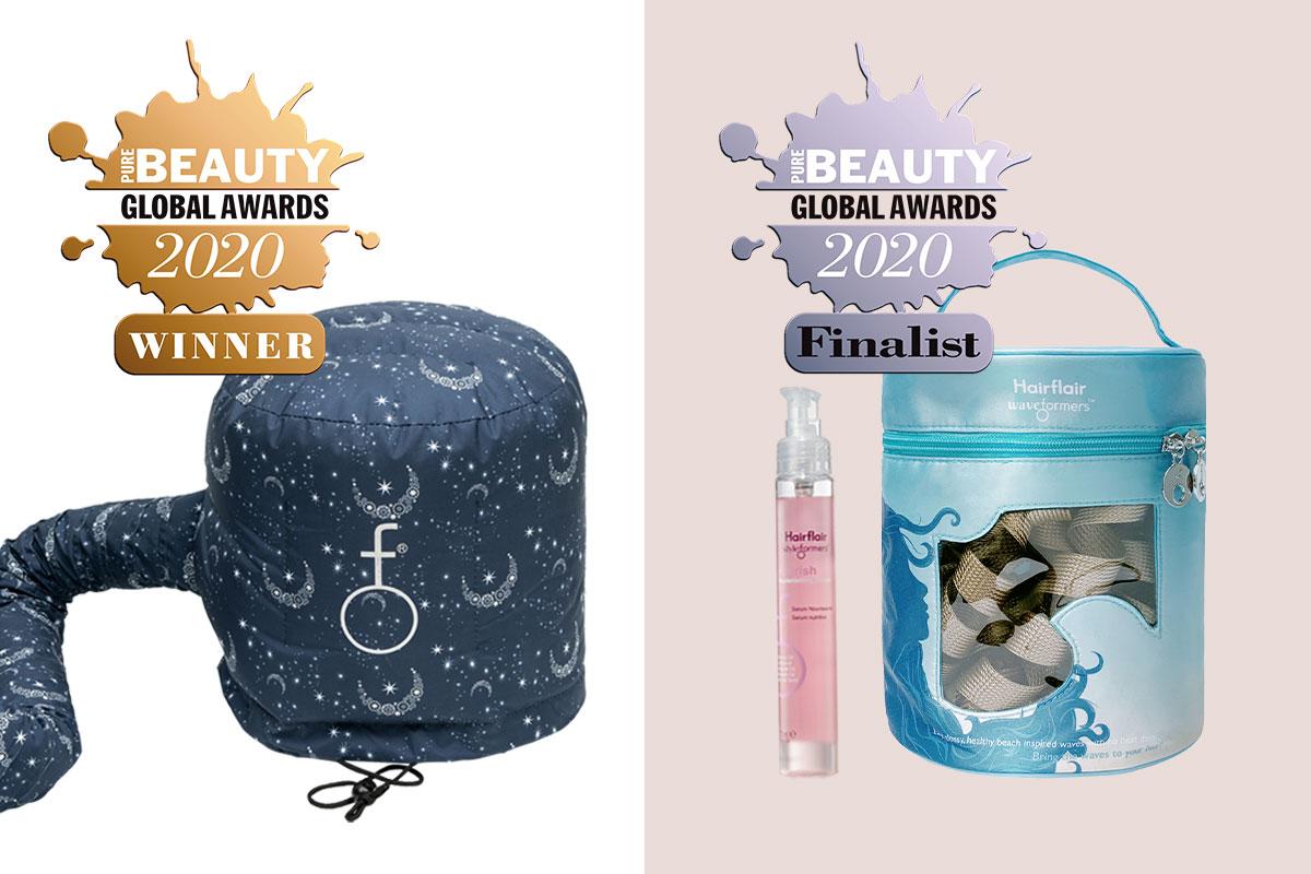 HairFlair Gana un premio Global Pure Beaty y tiene dos productos finalistas
