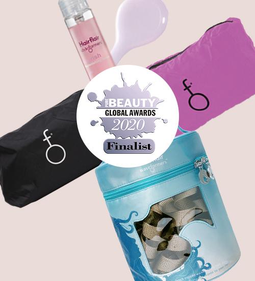 Tres productos de HairFlair  finalistas en los premios Pure Beauty Global Awards 2020