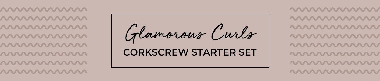 Glamorous Curls Corkscrew Starter Set