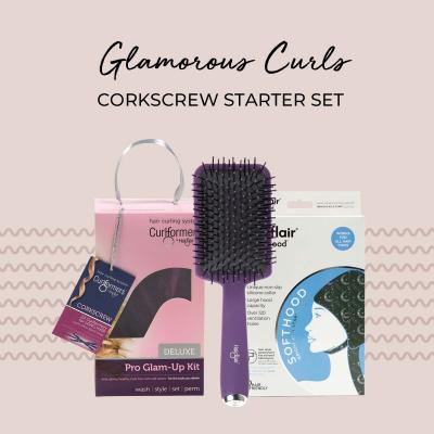 Glamorous Curls Barrel Starter Set