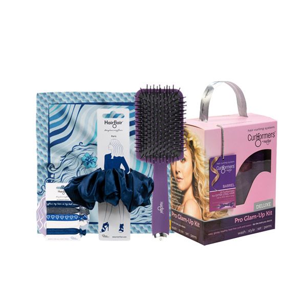 Gift of Corkscrew Curls Set with FREE Nourish Styleformer