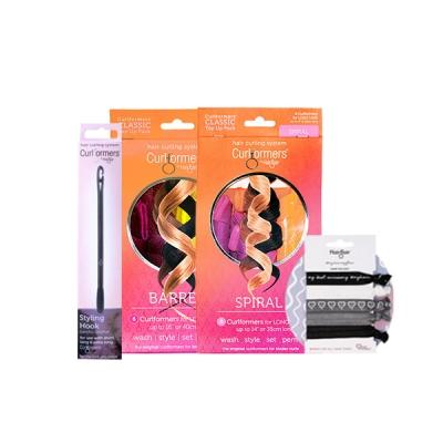 Gift Barrel & Spiral Starter packs with FREE Dark Delight Hair