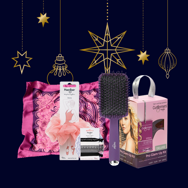 El set de regalo Finishing Look con kit de glamour en espiral GRATIS