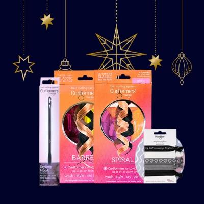 Gift Barrel & Spiral Starter packs with FREE Dark Delight Hair Ties