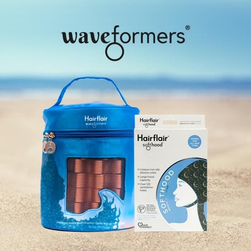 Hairflair Waveformers® conjunto Ripple Party
