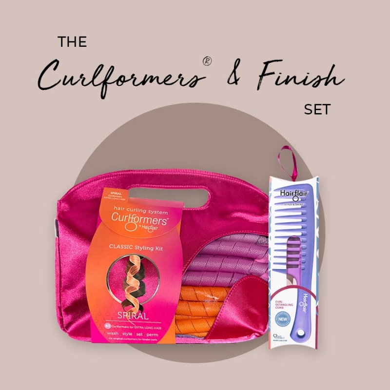 Spiral Curlformers & Finish Set