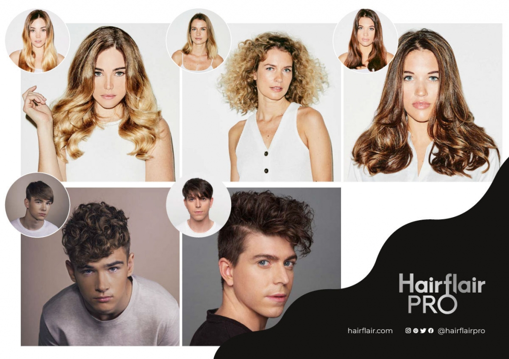 HairFlair Pro Perming Examples